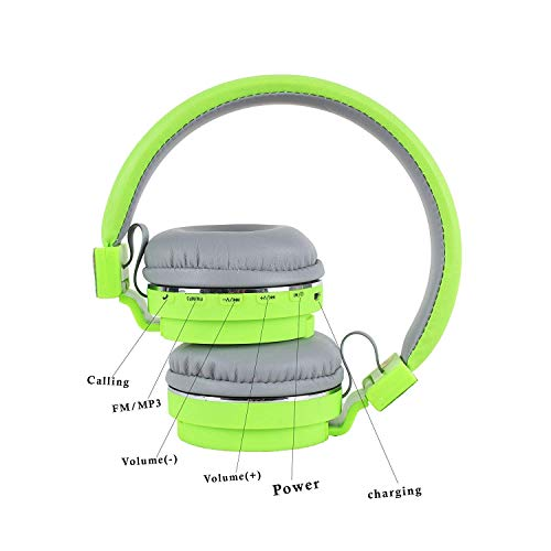 Erhetus Wireless Bluetooth Headphone with Mic and SD Card Slot and FM with Music and Calling Controls for All Mobile (Random Colour-As per Availibility)