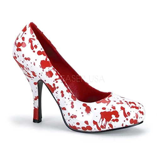Funtasma by Pleaser Women's Bloody-12 Pump,White Patent/Red,8 M US]()