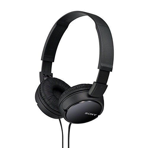 Sony MDRZX110 ZX Series Stereo Headphones (Black)