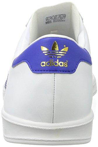 adidas Herren Hamburg Low-Top Mehrfarbig (Ftwr White/bold Blue/gold Met.)
