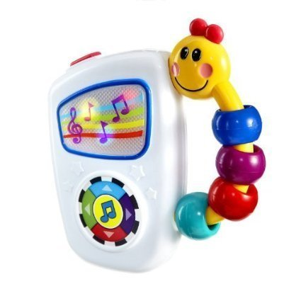 Baby Einstein Take Along Tunes w/ Large Easy Press Button Toggles Through 7 High Quality Melodies