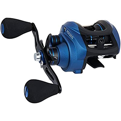 Piscifun Perseus Low Profile Baitcasting Reel - Noise Free, Incredible Smooth Baitcaster Reel, Anti-backlash, Dual Brakes, 18.5LB Carbon Fiber Drag Baitcasting Fishing Reels by Piscifun