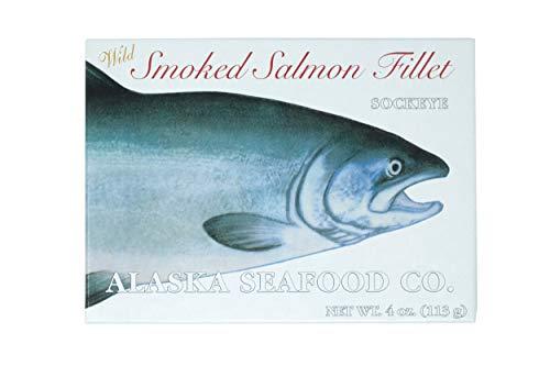 Alaska Seafood Company Wild Smoked Salmon Sockeye Fillet