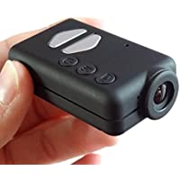 Black Box Mobius Pro Mini Action Camera - 820mAh Battery - 1080P Full HD Mini Sports Action Dash Cam - DVR Video Recorder with WDR (Wide Dynamic Range) Large FOV, Motion Detection & Time Lapse