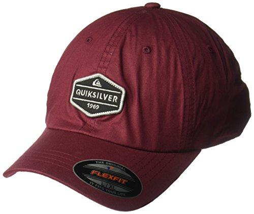 Quiksilver Stretch Hat (Quiksilver Men's El Stretch Hat, Pomegranate, L/XL)