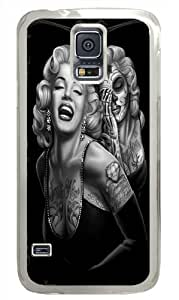 Samsung Galaxy S5 Case Marilyn Monroe Skull,Personalized Case