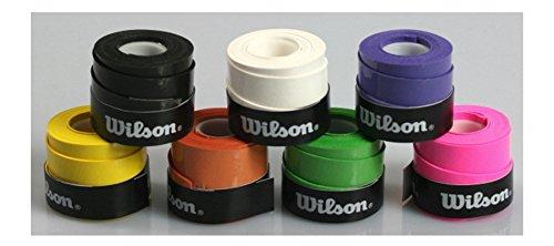 10 Wilson Griffbänder Bowl für Tennis Badminton Squash extra haltbar WRZ4710