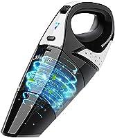 Handheld Vacuum, Hikeren 7Kpa Powerful Suction Wet & Dry Vacuum Cleaner, Handheld Vacuum Cordless with Quick Tech,...