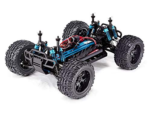 Red Cat Racing Front Shock - Redcat Racing Volcano EPX PRO Brushless Electric Truck, Blue/Silver, 1/10 Scale