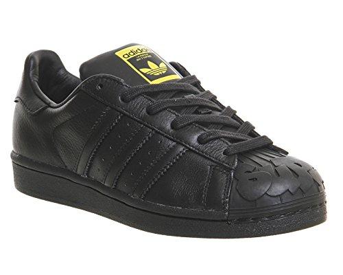 Adidas Superstar Pharrell chaussures 11,0 black/black/yellow - Noir - 46 EU