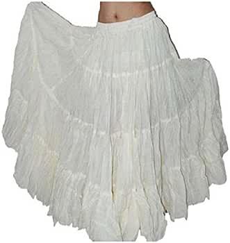 Plain 25 Yard Yards Tribal Gypsy algodón Vientre Bailando Danza ...