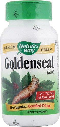 Nature'S Way Goldenseal Root 100 Cap