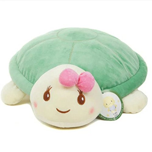 KateDy Lovely Plush Turtle Figurine Doll, 11.8