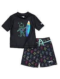 Skechers Boys' 2-Piece Swim Set Outfit