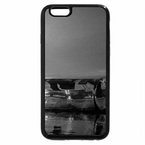 iPhone 6S Plus Case, iPhone 6 Plus Case (Black & White) - Beached