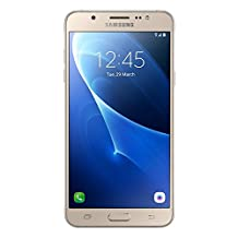 "Samsung Galaxy J7 LTE (2016) J710M/DS 16GB - 5.5"" Dual SIM Factory Unlocked Phone (Gold) - International Version"