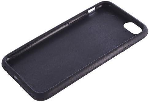 xiaocheng Tel/éfono Caso De Shell Cubierta De Goma con Cintur/ón Compatible con Apple iPod Nano 7 Negro Accesorios Electr/ónicos Port/átiles