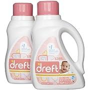 Dreft Stage 1 Newborn HE Baby Laundry Detergent - 50 oz - 2 pk