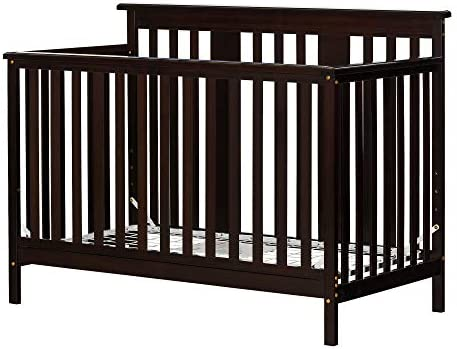 South Shore Little Smileys Baby Crib 4 Height