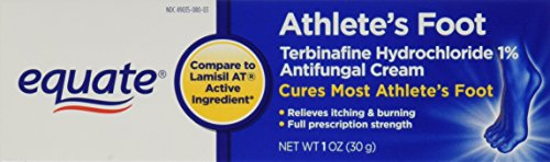 Equate Athlete's Foot Terbinafine HCl 1 oz Compare to Lamisil AT