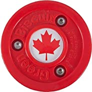 Green Biscuit Training Puck- Canada Red
