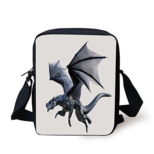 IPrint Dragon,Fantastic Creature Flying Digital Effects Feat
