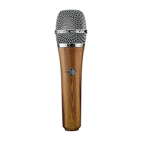 Telefunken M80 | High-Quality Hand-Held Cardioid Microphone Custom Finish Dynamic Series with (Oak Custom Series)