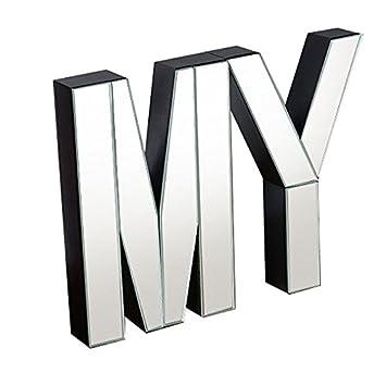 My Furniture   Grandes Lettres Décoratives Murales Ou à Poser En Miroir U2013 My
