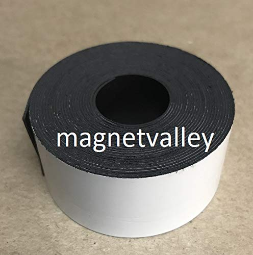 Magnet Valley Dry Erase Magnetic Strip Roll 4'' x 100' Write on/Wipe Off Magnet by Magnet Valley
