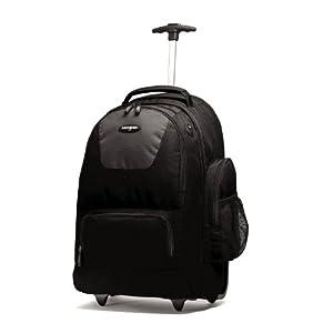 Samsonite Wheeled Backpack, Black/Charcoal, One Size