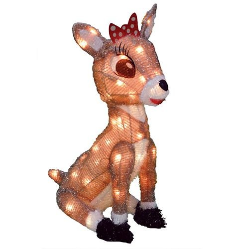 - Rudolph Collection CLARICE Pre Lit Yard Art