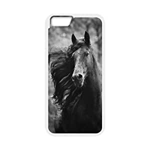 """Custom Colorful Case for Iphone6 Plus 5.5"""", Galloping Horse Cover Case - HL-R670214"""