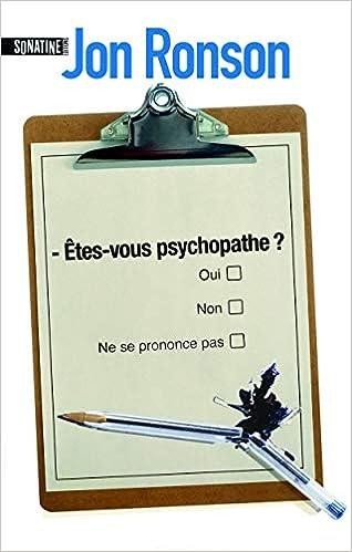 Comment savoir votre rencontre un psychopathe