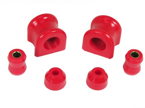 - Prothane 1-1111 Red 30.5 mm Front Sway Bar Bushing Kit for TJ