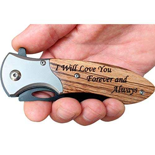 Engraved Pocket Knife for