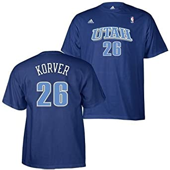 super popular 5b08d cc793 adidas Utah Jazz Kyle Korver Jersey T Shirt XXL 2XL XXLarge ...