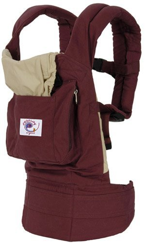 Ergo Baby Carrier - Organic Cranberry with Camel Lining