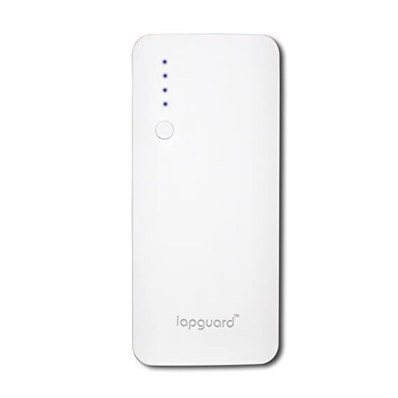Lapguard Sailing 1510 10400mAH Power Bank    White Grey  Mobile Accessories