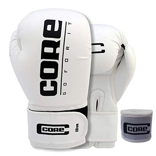 Core Boxing Gloves with Free Hand wrap Adult Sparring Training Boxing Gloves Pro Punching Heavy Bags mitt UFC MMA Muay…