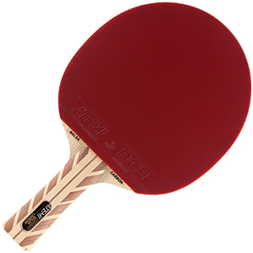 Atemi Pro Balsa-Carbon 5000 Ping Pong Paddle (Flared)