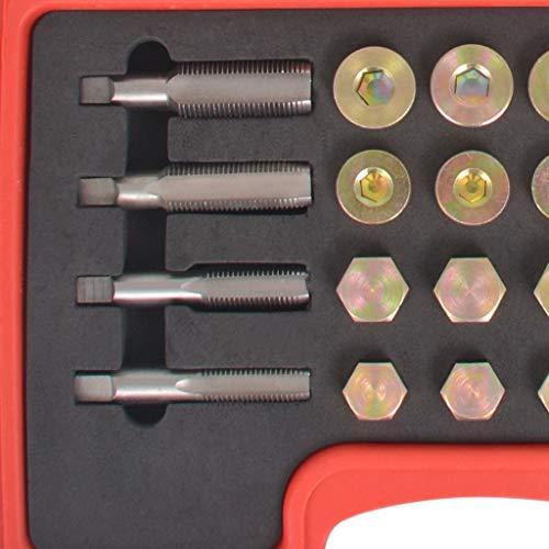 c6194c34e9cf4c vidaXL Kit de Réparation de Bouchon Vidange d Huile Outils à Main Garage   Amazon.fr  Bricolage