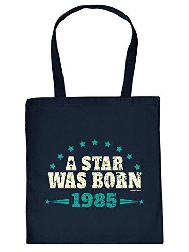 lustige Tasche zum 32 Geburtstag A Star was Born 1985 Geschenk 32. Geburtstag 32 Jahre Geburtstagsgeschenk