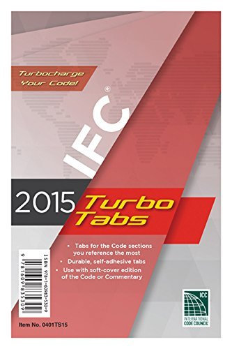 2015 International Fire Code Turbo Tabs for Paperbound Edition by International Code Council (2014-06-27) -  ICC (distributed by Cengage Learning)