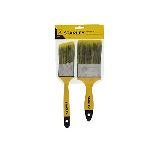 Stanley 2 Piece Polyester Soft Grip Brush Set by Stanley