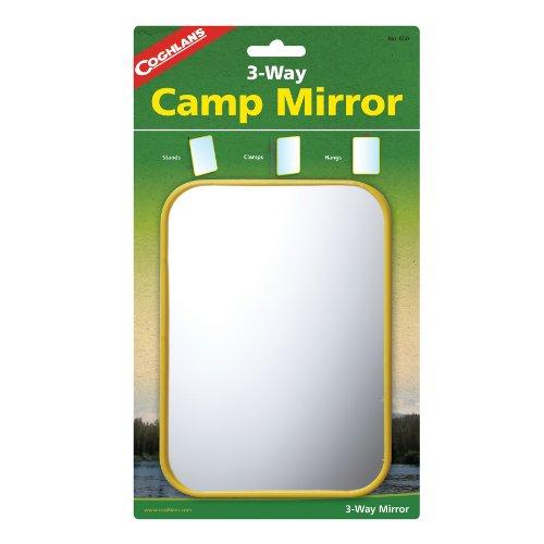 Coghlans Camping Mirror - Coghlan's 3-Way Camp Mirror
