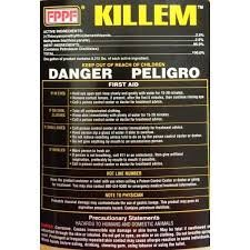 FPPF 00119 KILLEM BIOCIDE 16 OZ. (QTY 12), TREATS 1920 GALLONS OF DIESEL FUEL PER BOTTLE by FPPF