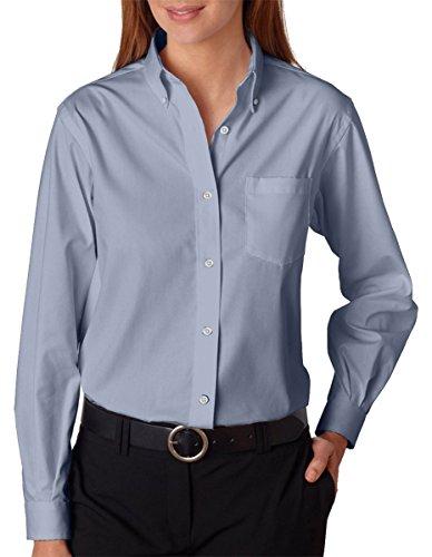 Long Sleeve Wrinkle Resistant Oxford - 8