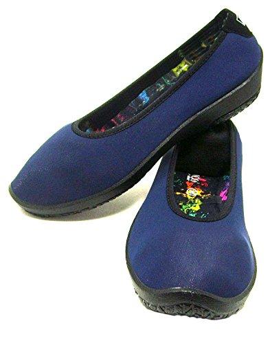 Arcopedico Womens Shoes Lolita Textile Navy 7wx7qOrU