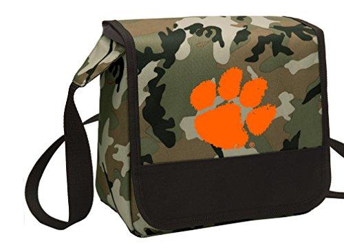 Broad Bay Camo Clemson University Lunch Bag Shoulder Clemson Tigers Lunch Boxes