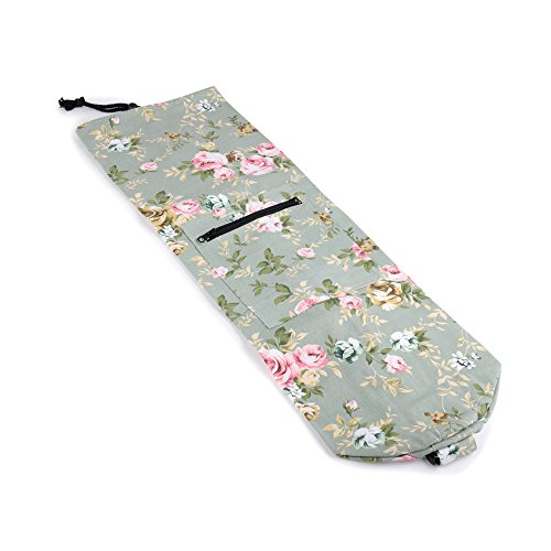 Mat Bag with Air Vents & Storage Pocket (laurel, floral printed) (Air Max Vents)